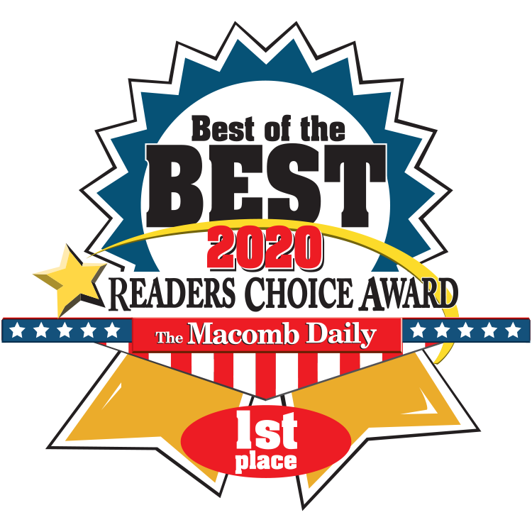 2020 Macomb Daily Best of the Best 1st place, 2020 Winner